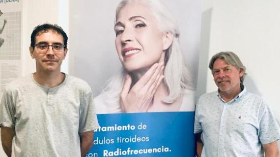 La clínica DENSICORP, ya trata los nódulos tiroideos con radiofrecuencia, evitando la cirugía.